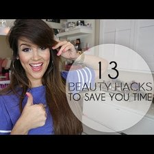 13 beauty hacks to save you time