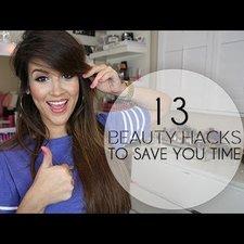 13 beauty hacks to save you time