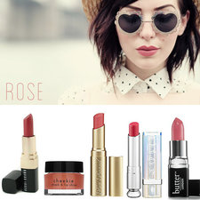 5 Rose Lipsticks Colors to Try