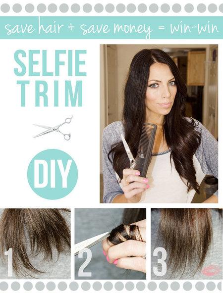 Diy Selfie Trim Have You Guys Cut Your Own Hair Diy Bellashoot