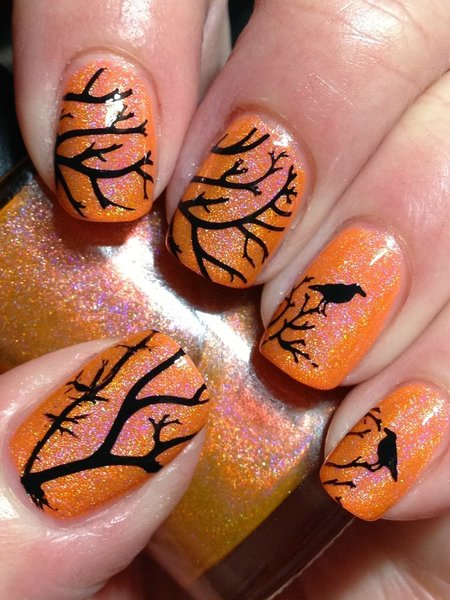 Smitten Safety Dance with Crows - Nails | Bellashoot