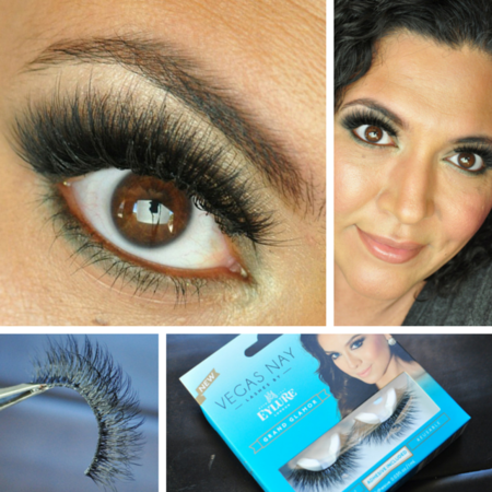 f8293a74bbe Vegas Nay by Eylure Lashes in Grand Glamor - Makeup | Bellashoot