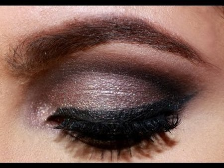glitter cut crease makeup tutorial  makeup  bellashoot