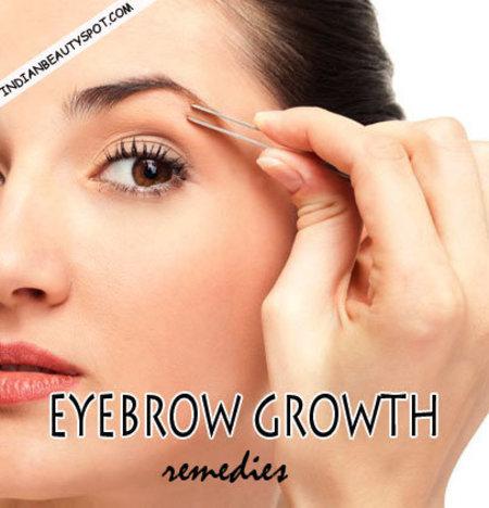 Eyebrow growth remedies - Natural   Bellashoot