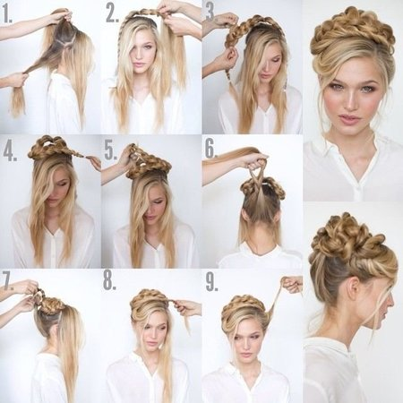 Cute Curly Updo Tutorial Hair Bellashoot