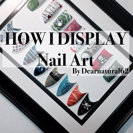 Cool Nail Art Display Idea - http://goo.gl/kMm3IC - DIY ...
