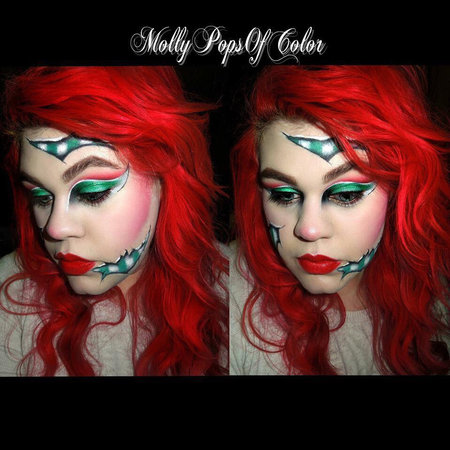 evil christmas elf makeup bellashoot - Christmas Elf Makeup